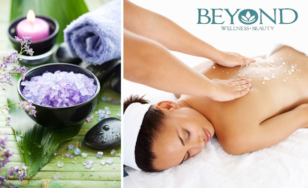 Indulge in a full mani & pedi (R129) OR a 60-min Himalayan crystal salt neck & back massage (R145) at Beyond Wellness