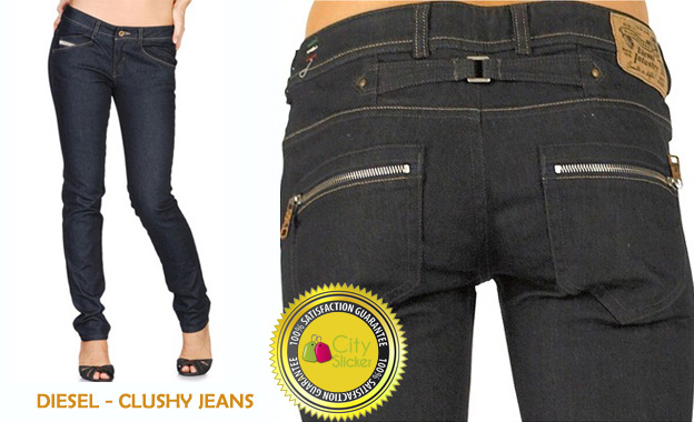 Slide into a pair of authentic ladies DIESEL Cherick/Clushy/Louvely Jeans for R999 including delivery (value R2200)