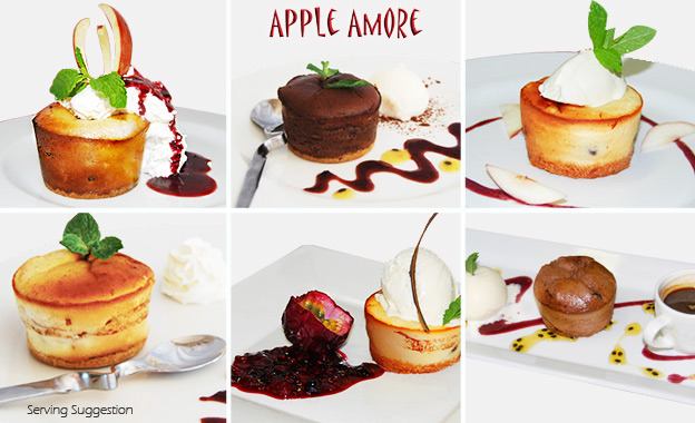 Italian-style apple tarts/chocolate desserts for R175 or R335 (10 or 20) delivered to your door (value up to R670)