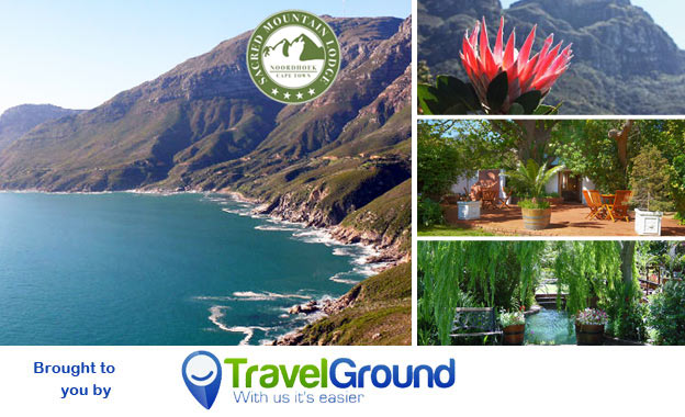 Pay R729 per night for 2 including farm breakfast, wine and Jacuzzi session at the 4-star Sacred Mountain Lodge in Noordhoek