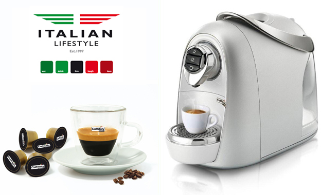Expresso yourself! Pay R1699 for a Caffitaly Mushroom Coffee Machine PLUS 150x Capsules from Italian Lifestyle (value R2734)