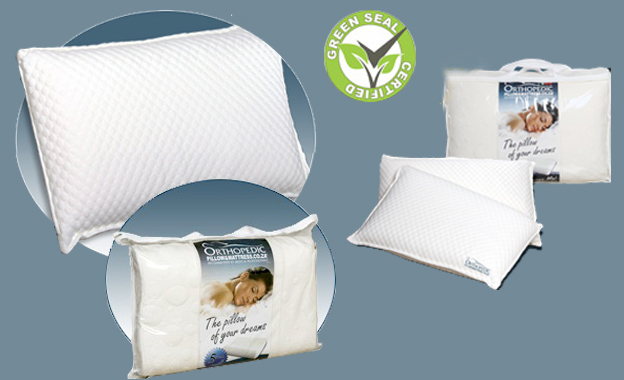 Pay R729 for Two Memory Pedic Pillows, including delivery, from Orthopedic Pillow & Mattress (value R1398)