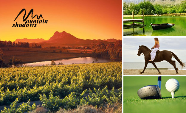 Whisk your loved one to the Winelands! R489 per night including breakfast at Mountain Shadows Guesthouse (value R980)