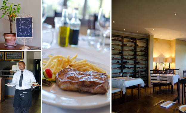 Savour 2x 300g rump steaks with shoestring chips for R119 on a sunny day out at La Pineta in Stellenbosch (value R246)