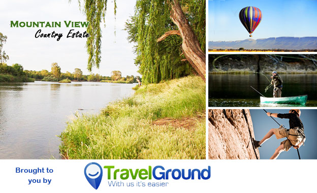 Tranquil countryside escape for 2! Pay R325 per night including breakfast at the Mountain View Country Estate in Parys