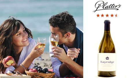 Bay Ridge Chardonnay 2008 (John Platter 4.5 stars, wine of origin Stellenbosch) starting from R52 per bottle, delivery included