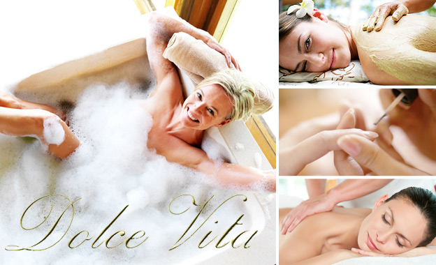 Pamper time! Choice of massages, scrubs, mani & pedi's starting from R100 at the serene Dolce Vita Beauty Centre in Greenside