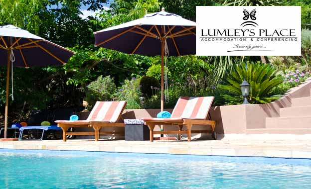 4-star winelands escape for 2! R499 per night at Lumley's Place B&B, including breakfast PLUS special treats for longer stays