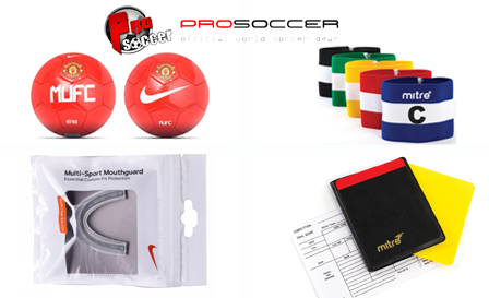 Pay R99 for a R200 voucher to use on ANY sporting item from ProSoccer.co.za, SA's largest online soccer shop