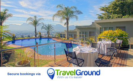 4-star escape for 2! Pay R350 (Garden) or R429 (Superior) per night PLUS breakfast at Paarl Boutique Hotel