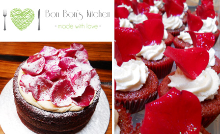 Freshly baked cakes from Bon Bon's Kitchen! Choice of chocolate truffle, red velvet, carrot cakes and more, starting from R159