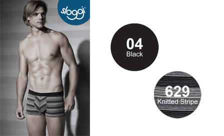 Get a 2 OR 3-pack of Sloggi Men's hipsters in knitted stripe, denim, grey melange and black including delivery, from R219