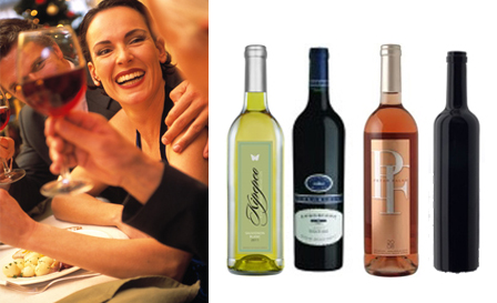 Mixed case of premium full-bodied white and red wines, starting from R50 per bottle, delivery included