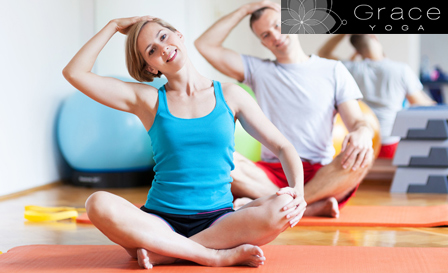 Stretch body and mind with 1-hr Yoga Introductory classes! R45 for 1 session OR R75 for 2 sessions at Grace Yoga, Mouille Point