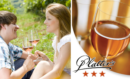 Unlabelled Pinotage Rosé (John Platter 3 stars, wine of origin Paarl) starting from R41 per bottle, delivery included