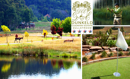 4-star retreat to a country estate in Dullstroom! R950 for a 1-night stay for 2 with breakfast at Dunkeld Country Estate Lodge