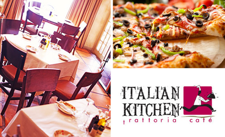 Pay R69 for an authentic lunch for 2 OR R119 for a gourmet dinner for 2 at Italian Kitchen, Tokai (value up to R258)