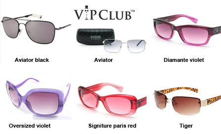 GUESS sunglasses in six styles for men and women for R599, delivery included