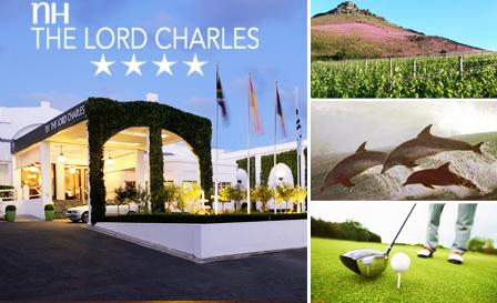 4-star break to NH The Lord Charles Hotel in Somerset West! R699 per couple or R899 per family per night, breakfast included