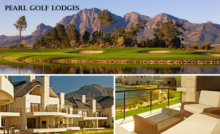 Luxury retreat for 6 people plus BONUS at the exquisite Pearl Golf Lodges in Franschhoek starting from R310 per person per night
