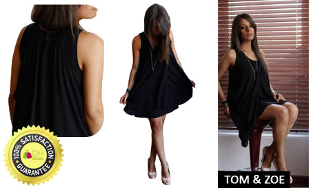2ae8eb3f1ed Tom   Zoe perfect summer cocktail dress! R349 for a crush tulip black  sleeveless dress