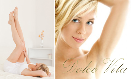 De-fuzz underarms and bikini line with painless, non-invasive laser hair removal sessions from R150 at Dolce Vita Beauty Centre