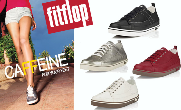Get caFFeine for your feet! Pay R659 for a pair of ladies Supertone leather sneakers including nationwide delivery (value R1324)