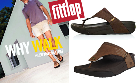 Get practical and performance-driven FitFlop Dass flip flops for men for R459 including nationwide delivery (value R924)