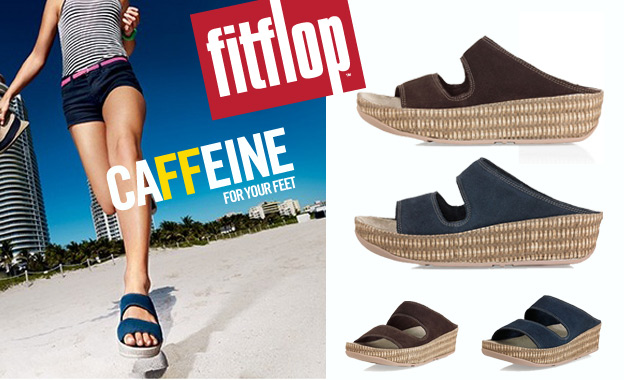 Get caFFeine for your feet! Pay R439 for a pair of ladies Lolla sandals, including nationwide delivery (value R874)