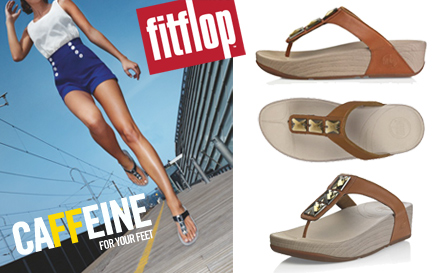 Get caFFeine for your feet! Pay R439 for a pair of ladies Pietra sandals, including nationwide delivery (value R874)