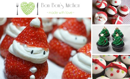 Indulge in 12 or 24 Christmas themed or fancy cupcakes (chocolate truffle, coconut…) from R149 at Bon Bon's Kitchen