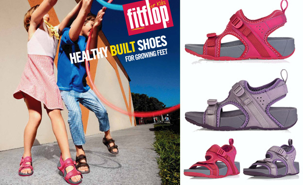 Pay R289 for a pair of kids unisex Scrambler sandals by FitFlop, including nationwide delivery (value R574)