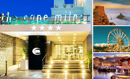 Revel in a 4-star stay and sumptuous buffet breakfast at the esteemed Cape Milner for R799 per night for 2 people