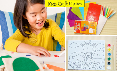 Banish kiddie boredom this summer with an 8-piece DIY arts and crafts kit starting from R259 by Kids Craft Parties