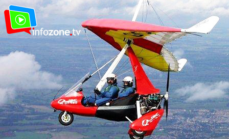 Explore Pretoria from up above! 30-min introductory microlight experience with Infozone TV for R425