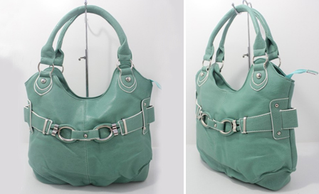 Pay R189 for a Mint Green handbag with buckle detail including delivery (style: 3813611)
