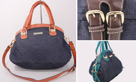 Pay R239 for a sling handbag available in coffee, orange and blue including delivery (style: 111720)