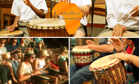 Pay R99 for a 2-hour drumming session for 2 people with AfroBeat Drumming and experience the thrill of drumming
