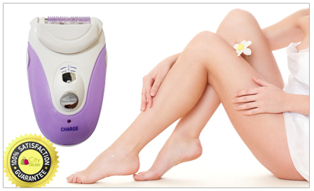 Be hair free for up to 4 weeks with a Jundeli epilator for only R199, including delivery