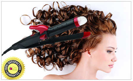 Styling with Jundeli! Pay R179 for a hair straightener, including delivery