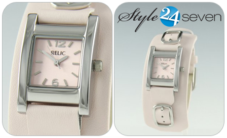 Embrace your femininity with this Relic by Fossil authentic ladies watch for only R495! Delivery included