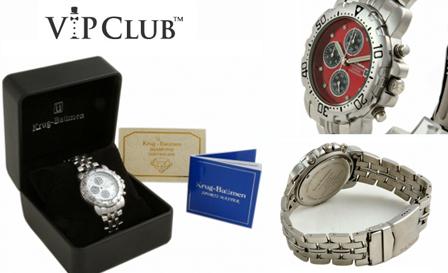 Krug Baumen sportsmaster diamond watches for men for R1695, including nationwide delivery
