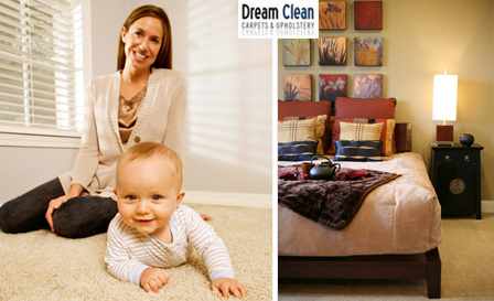 Start 2013 on a fresh note! Choose from a Standard (R179) OR Deep(R369) carpet cleaning for 2 rooms with Dream Clean