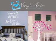Save up to R1000 and spruce up your walls with stylish wall stickers when you pay R50 for 50% discount at Vinyl Art SA