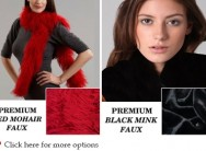 Bundle up in your choice of trendy and stylish faux fur scarves, starting from R269, including delivery