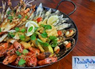 Enjoy abundance with a decadent seafood platter for 2 people (lobster, Kingklip, prawns...) for R225 at Panama Jacks, Cape Town