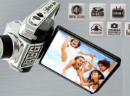 Capture precious moments with a full HD digital video camera with 12 mega pixels and 4x digital zoom for R849, incl delivery