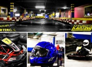 Experience great thrills with a 10 lap race for 2 people for only R99 with Century Karting in Canal Walk