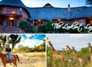 Groblersdal, Limpopo - Experience a 2-night game reserve escape for 2 at The Lookout Lodge for R999, including breakfast
