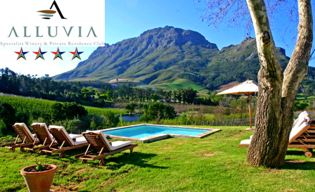Cape Winelands - Relax with a tranquil 4-star getaway for 2 people at Alluvia Wine Estate, starting from R649 per night